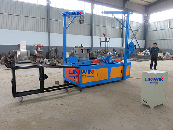 wire drawing machine for making wire nails