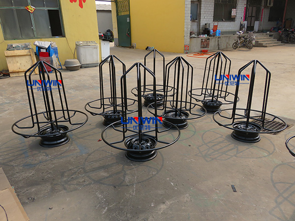 wire reel, wire payoff